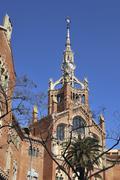 Hospital of saint paul. barcelona. spain Stock Photos