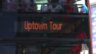 Stock Video Footage of New York City Tour Bus