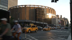 Madison Square Garden Stock Footage