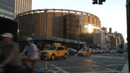 Stock Video Footage of Madison Square Garden