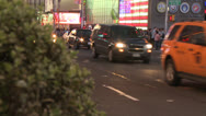 Stock Video Footage of New York City, US Armed Forces Recuiti Station zoom out