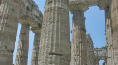 Pillars of an Ancient Greek Temple HDR - 29,97FPS NTSC Stock Footage