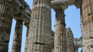 Stock Video Footage of Pillars of an Ancient Greek Temple I
