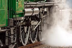 Getting up steam - stock photo