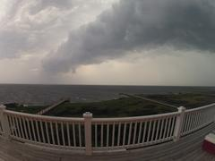 Storm Cloud in the Outer Banks, NC Stock Photos