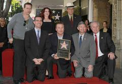 Alec baldwin hollywood walk of fame induction ceremony Stock Photos