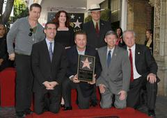 alec baldwin hollywood walk of fame induction ceremony - stock photo