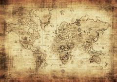 Antiikin maailman kartta Kuvituskuvat