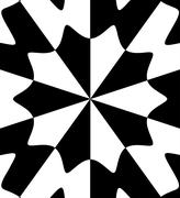 Black white abstract Stock Illustration