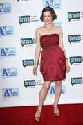 Stock Photo of milla jovovich.bravo's second annual 'the a-list awards' held at the orpheum