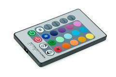 Remote controller for rgb led lamp Stock Photos