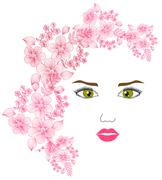 Stock Illustration of fashion girl