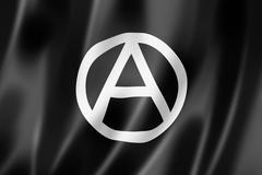 Anarchy flag Stock Illustration