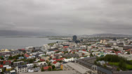 Stock Video Footage of Reykjavik, Iceland