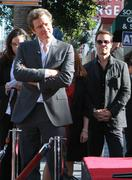 Colin firth is honored with the 2,429th star on the hollywood walk of fame Stock Photos