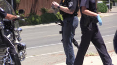 Police Action Stock Footage