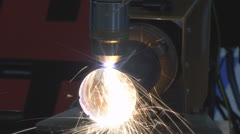 Stock Video Footage of Machine tool