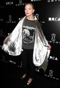 jessica stam hosts grand opening of devon flagship store in beverly hills - stock photo