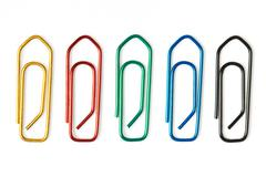 office clips - stock photo