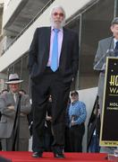 Donald sutherland star ceremony on hollywood walk of fame Stock Photos