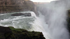 Gullfoss Stock Footage