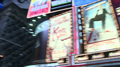 Broadway NYC Lineup - stock footage