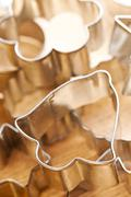 cookie xmas cutter - stock photo
