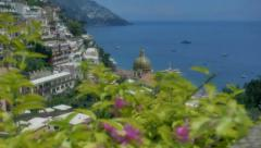 Revealing Chiesa Santa Maria Assunta in Positano Italy - 29,97FPS NTSC Stock Footage