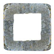 frame of concrete kerb - stock illustration