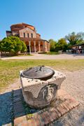 venice italy torcello cathedral of santa maria assunta - stock photo