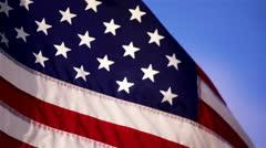 USflag-29 - stock footage