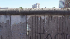 Remains of the Berlin Wall Stock Footage