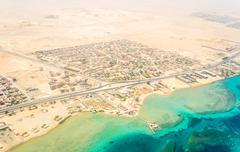 View Egypt Hurgada - stock photo