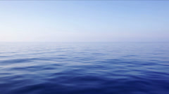 Gentle Blue Waves - stock footage