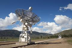 Stock Photo of Dish Array, Dominion Radio Astrophysical Observatory