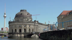 Museum Island in Berlin Stock Footage