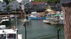 Rockport, MA Harbor - stock footage