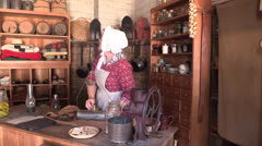Old Western country store Stock Footage