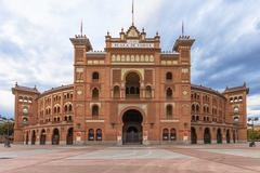plaza de toros de las ventas, madrid, spain - stock photo