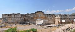 Hierapolis gate Stock Photos
