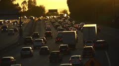 Los Angeles Traffic Stock Footage