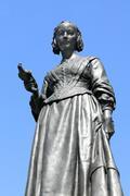Florence Nightingale statue Stock Photos