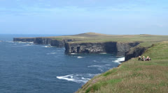 Clare Coastline 2 - stock footage