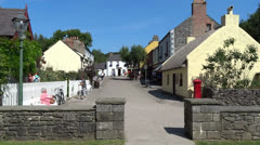 Bunratty Folk Park 5 Stock Footage