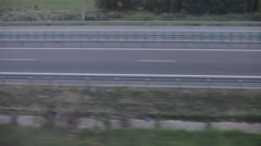 Highway Aerial View Stock Footage