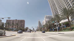 Sunny Isles Time lapse Stock Footage