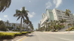 Westin Diplomat Hotel Stock Footage