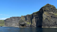 Cliffs of Moher 5 Stock Footage