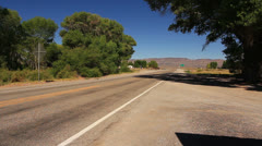 Area 51 ET Highway Sign 06 Nevada USA Stock Footage