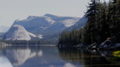 tenaya lake yosemite - stock footage